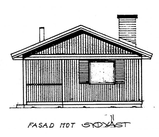 Bygglovsritning Gamla huset