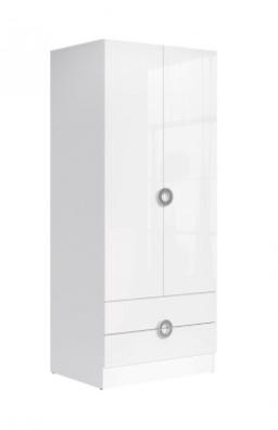 RINGO SZF2D2S/8/19 Garderob med 2 dörrar och 2 lådor