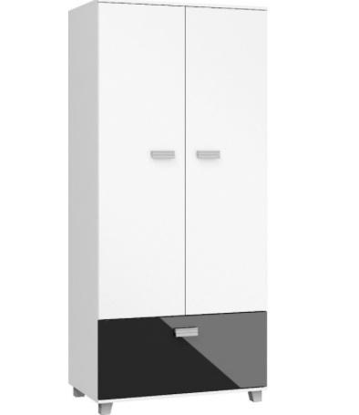 SOLO SOL07 Garderob med 2 dörrar och en låda