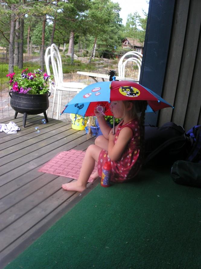 Sommar på altanen 2005