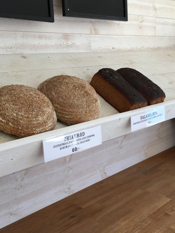 Lite av brödbodens bröd