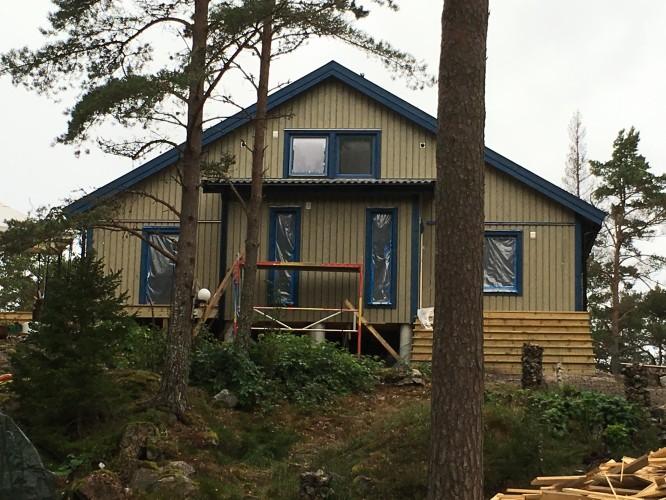 Huset från vägen 29/9-16