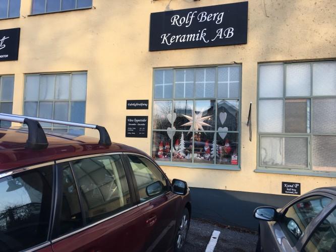 Rolf Bergs fabriksförsäljning i Torshälla.