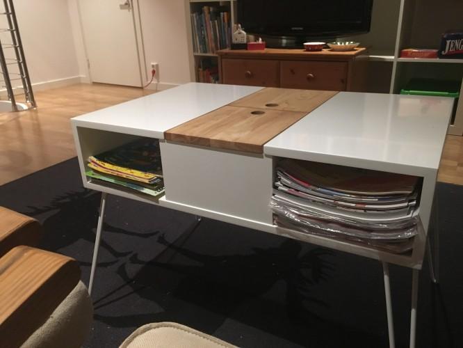 Nya soffbordet! Fyndade det för över ett år sedan från Cult Design.