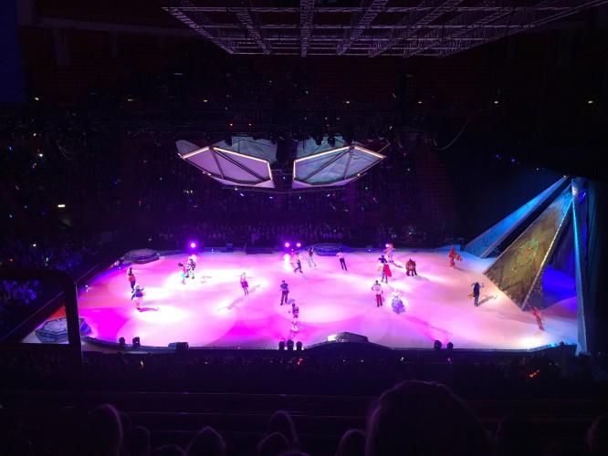 Disney on ice i Globen 2017