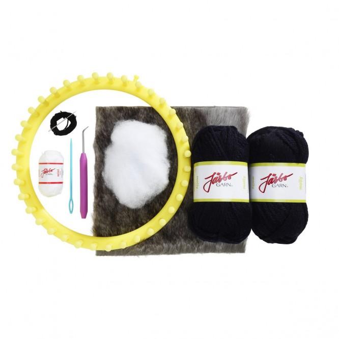 Quick knit beanie från Panduro