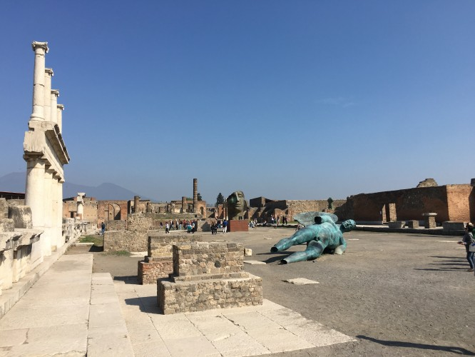 Stora torget i Pompeji