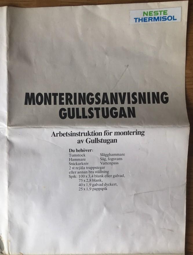 Friggeboden Gullstugan 10 kvm.