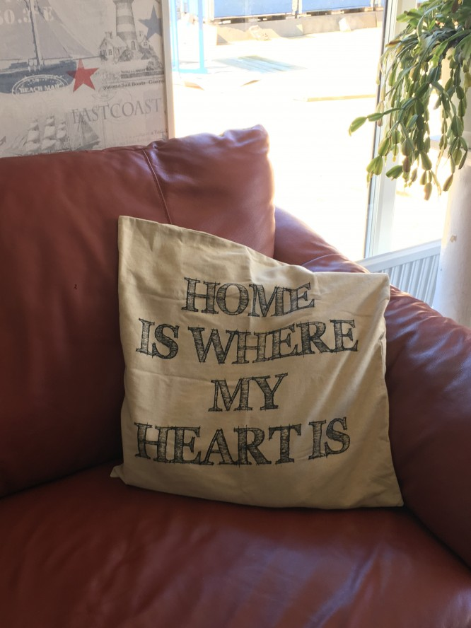 """Home is where my heart is"""