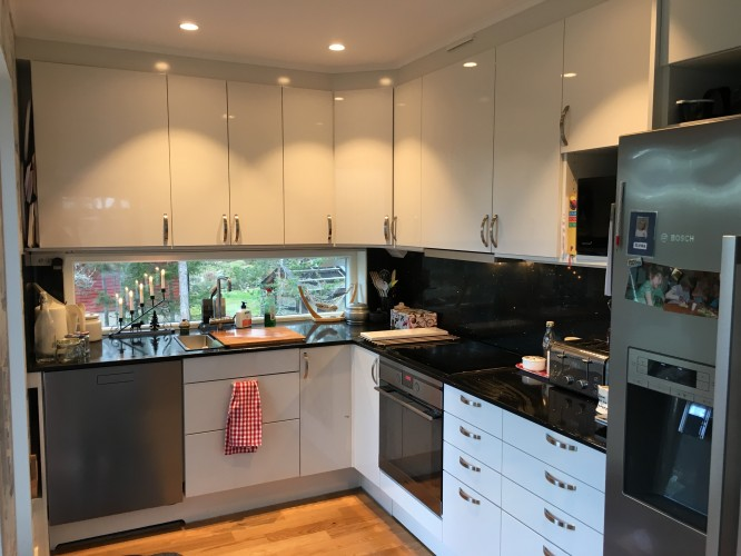Köket i Villa Bergstoppen