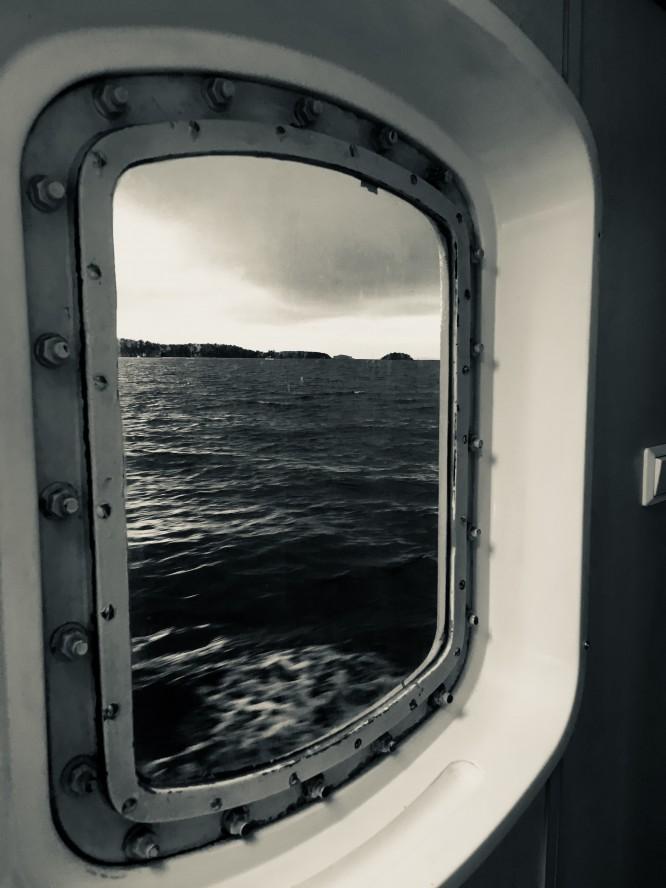 Färjeturen ut till ön är det bästa på hela resan!