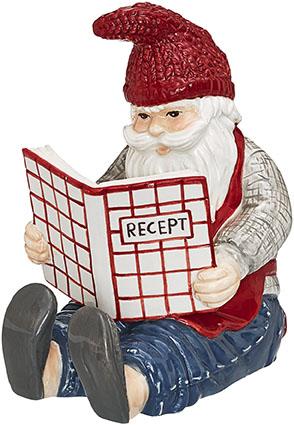 En jultomte som läser recept från Presentshopen, 149 kr