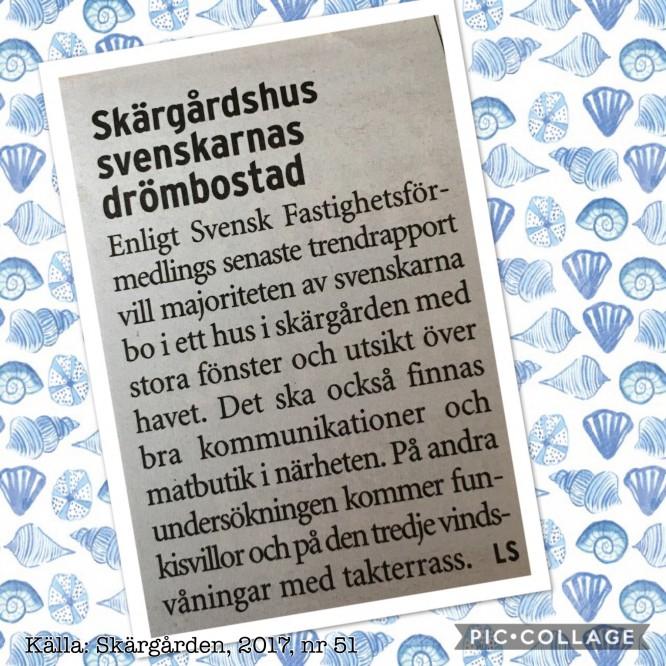 Vad svenskarna vill ha 2017...